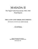 Masada II